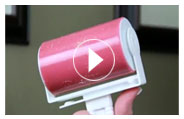 Washable Lint Roller Video